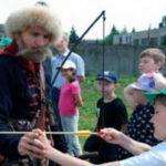 Участники лагеря Детского эколого-биологического центра встретились со стрельцом