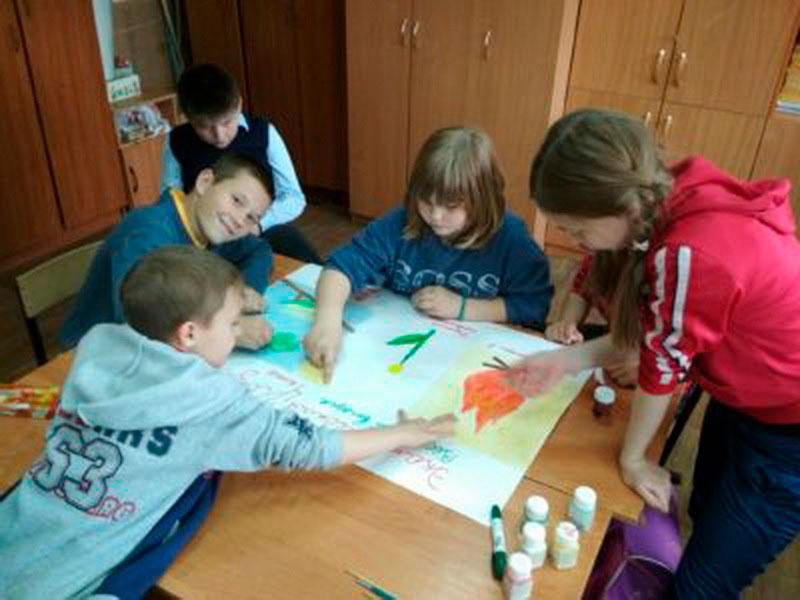 Фото: Воспитанники Рязанской школы-интерната приняли участие в фестивале экологических газет