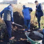 Волонтёры Рязанского автотранспортного техникума принимают участие в создании парка «Доступная природа»