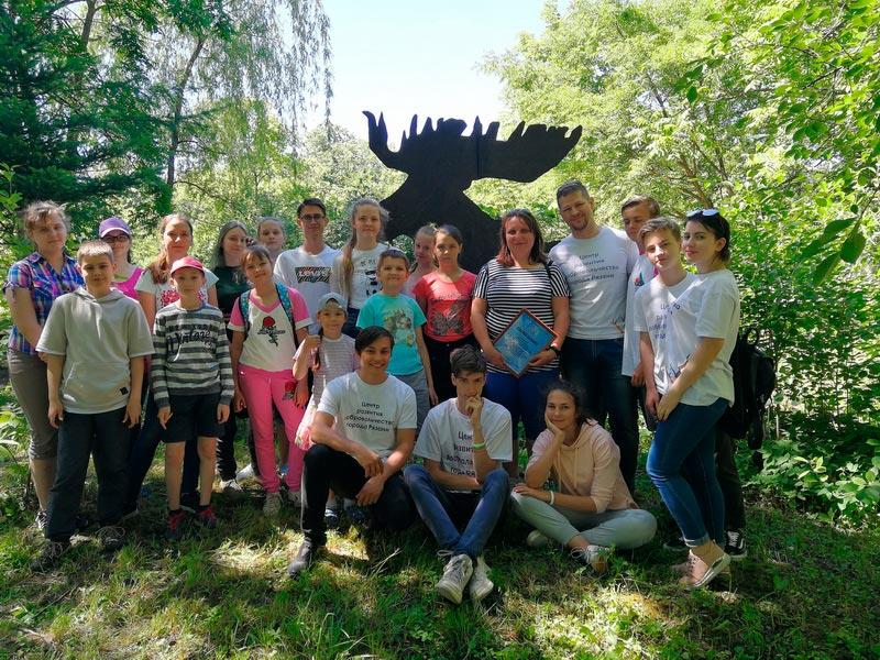 Завершилось обучение волонтёров парка «Доступная природа»