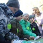 Дети с ограниченными возможностями здоровья провели исследования в парке «Доступная природа»