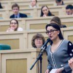 Педагог центра выступила на встрече Совета Федерации