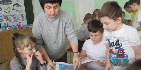 Обучающихся центра познакомили с жителями подводного мира
