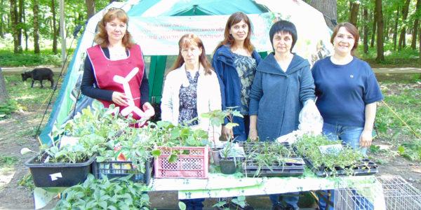Детский эколого-биологический центр принял участие в работе областной выставки-ярмарки изделий