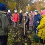 Обучающиеся Центра приняли участие в акции «Живи, лес»