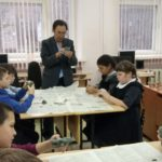 Занятие в объединении «Скульптура и керамика»