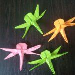 Мастер-класс по изготовлению стрекозы в технике оригами