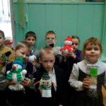 Учащихся школы №10 поздравили со Старым Новым годом
