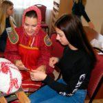 Участники объединения «Экотуризм» освоили уроки кружевоплетения