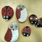 В объединении «Природная мастерская» сделали поделки из камней