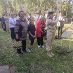 В Рыбновском районе высадили «Аллею Памяти»