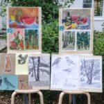 Выставка работ в профильной смене Изобразительное искусство